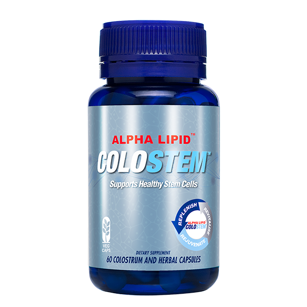 Colostrum Life Alpha Lipid Colostem - supports healthy stem cells
