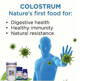 Colostrum life Natures first food